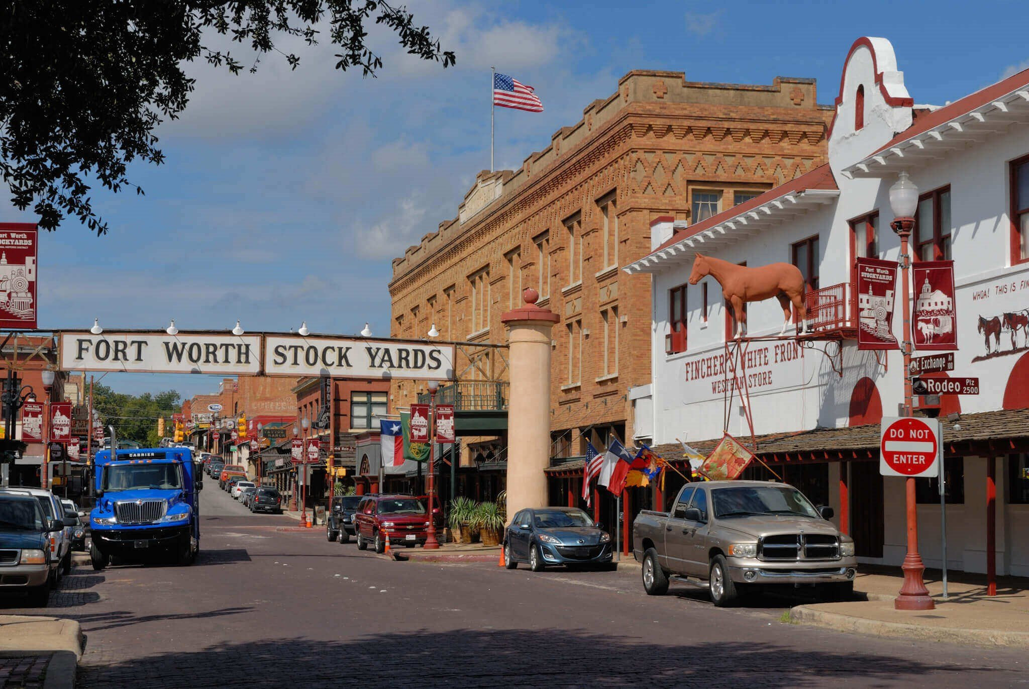 Image of Fort Worth Stockyards